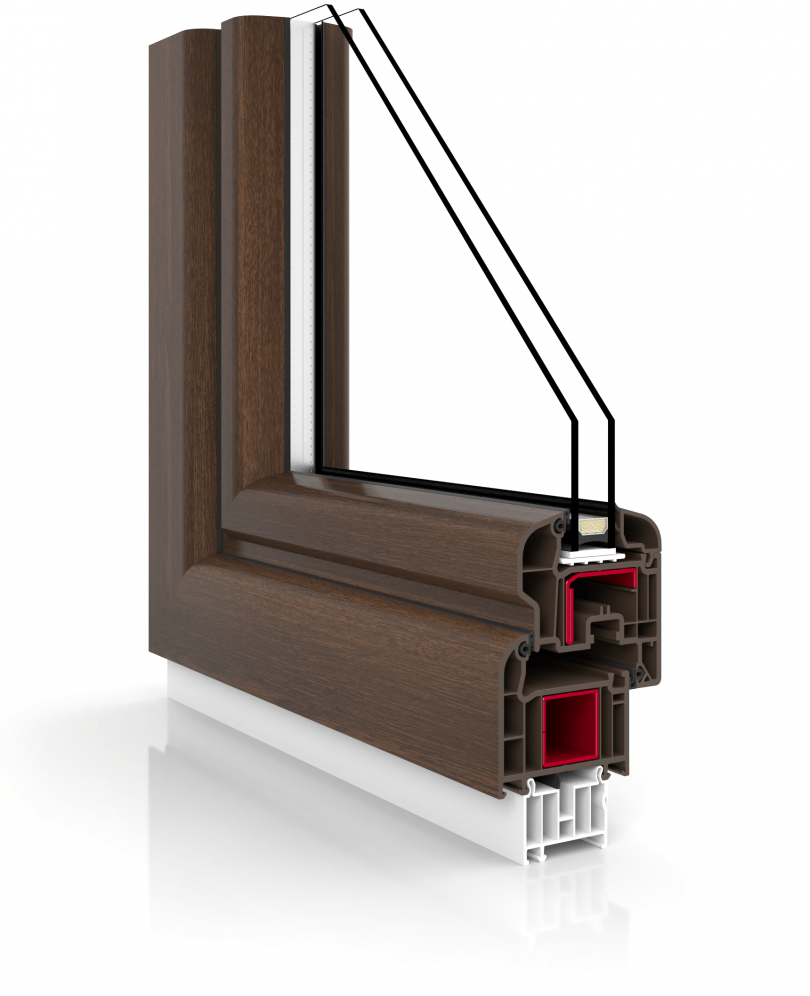 PVC-Fenster, Fenster-Universum, 1-5-Kammer-Verglasung ...